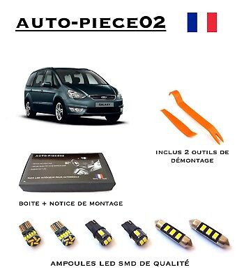 Pack FULL LED intérieur pour Ford Galaxy MK3