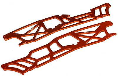 Integy Orange 4Mm Cnc Alloy Chassis Plates Tvp For Hpi Savage Xl