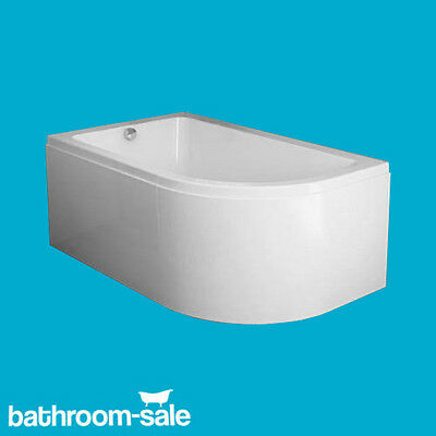 Freedom 1500mm x 950mm Left Hand Corner Bath Complete With Side Panel  RRP £349