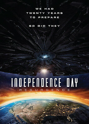 2016 INDEPENDENCE DAY: RESURGENCE Movie - PROMO Trading Card