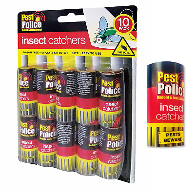 Fly Paper - Buy Rolls or Packs. Big Discounts. Insect Control. Multi Listing.