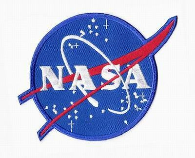 Patch Ecusson NASA VECTOR Astronaute Thermocollant Made in USA