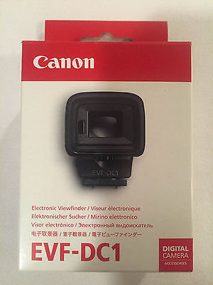 Genuine Canon Electronic View Finder EVF-DC1 for EOS M3 - Brand New in Box!