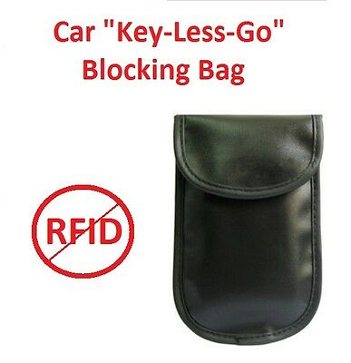 Car Keyless Go Blocking Security Bag. RFID Blocking Bag