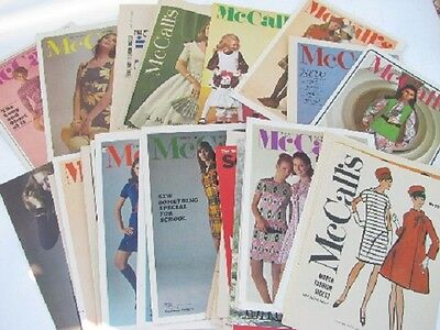 McCall's Choice of OOP Misses Vintage Fashion 1970-2000s Sewing Patterns $4.99ea