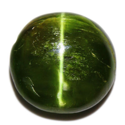 15.07 Cts_COLLECTOR GEMSTONE_100% NATURAL UNHEATED KORNERUPINE GREEN CAT'S EYE