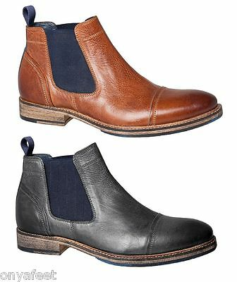 Mens Julius Marlow - Warthog Formal/work/casual Leather Boots Shoes Men's