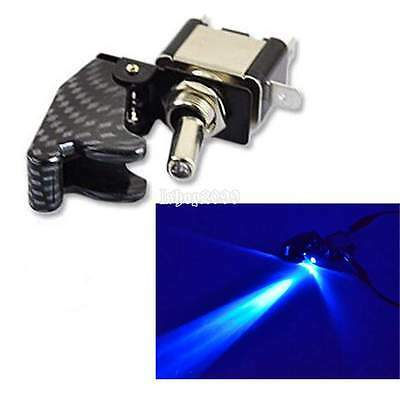Auto Bleu LED bascule Basculer Rocker Switch interrupteur 12V 20A ON OFF voiture