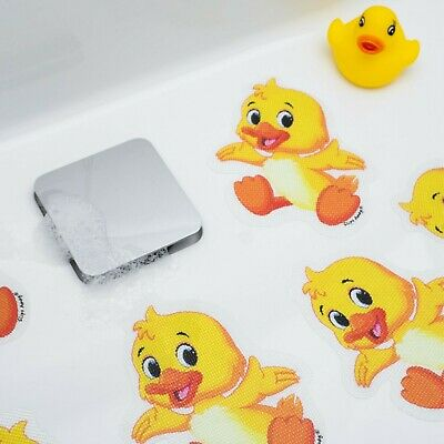 5 Duck Non Slip Baby Bath Child Safety Toddler Kids Shower Mat Cartoon Stickers