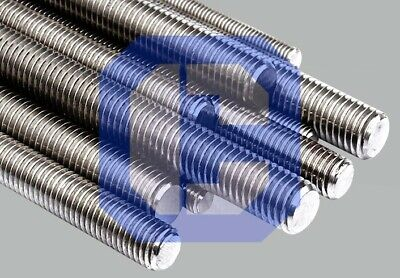 """US STOCK Pure Molybdenum Threaded Rod 3/8-16 x 36"""" inches"""
