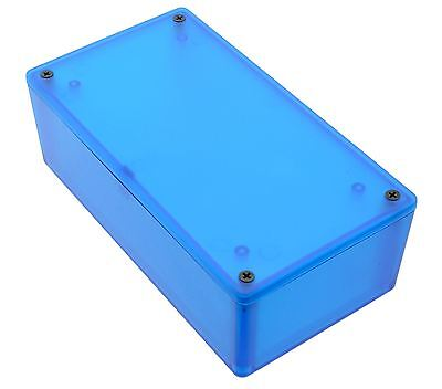 1591XXDTBU Blue Genuine Hammond Translucent ABS Enclosure Box (152 x 82 x 47mm)