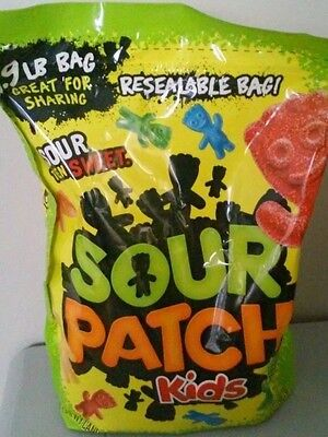 1 Large Bag Of Sour Patch Kids Soft Chewy Candy 1.9 lbs New, Always Fresh