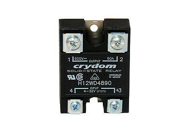 CRYDOM H12WD4890 SOLID-STATE RELAY Halbleiterrelais 90A 660VAC DC NEW