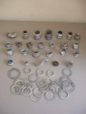 Bulk Lot Of Conduit Fittings And Electrical Hardware, Etc. MS2519