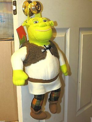 "New Shrek Plush Backpack 17"" Tall Very Rare Party Supplies"