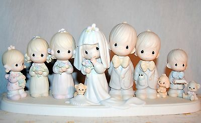 Precious Moments E2838 This Is The Day Which The Lord Hath Made Wedding Party ~