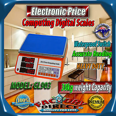 30Kg Electronic Digital Commercial Scale Price Weight Kitchen Food Scales Home
