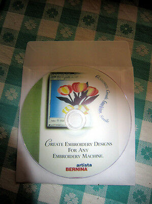 BERNINA Artista Customizer Designer Software Instruction DVD