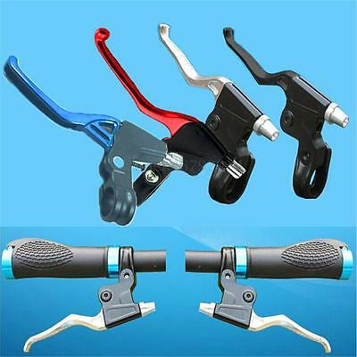 Lightweight Alloy Mountain Road BMX  Bicycle Brake Levers 2-finger Levers Set