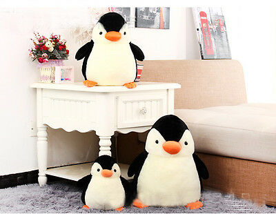Baby Kid Penguin Stuffed Animal Plush Soft Toys Cute Doll Pillow Cushion
