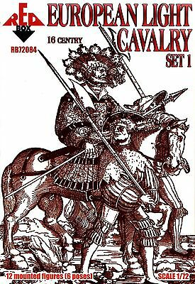 Set 1-1:72 Moscow Noble Cavalry 16 c. Siege of Pskov 72127 Red Box