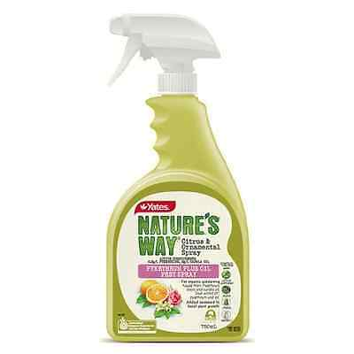 Yates 750ml Nature's Way Citrus and Ornamental Organic Insecticide Spray
