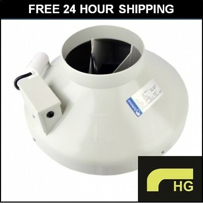"""Systemair Sileo 6 Inch L1 RVK Fan - 6"""" 150mm Ducting Extractor *FREE 24HR SHIP*"""