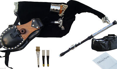 Irish Uilleann Pipes Practice Set Bagpipes Blackwood
