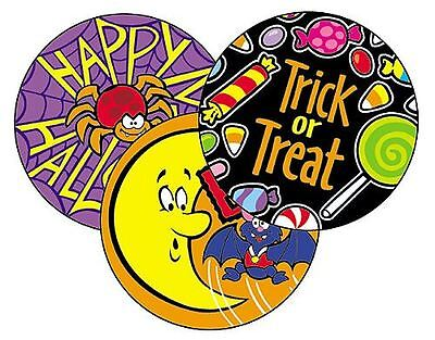 60 Halloween (Rootbeer) Scratch and Sniff reward Stickers n'