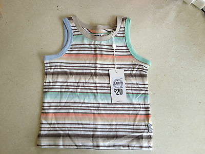 BNWT Size 1 Missoni for Target Boys Stripe Yarn Dye Tank Top RRP $20