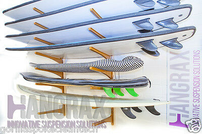 Hangrax - Clever Storage for Surfboards, Snowboards, Skis, Canoes, Bicycles etc.