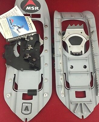NEW MSR DENALI ASCENT Military Snowshoes w/Bindings No Straps Gray