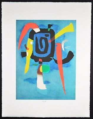 """Willy Baumeister ,,bluxao V """" 1955"""