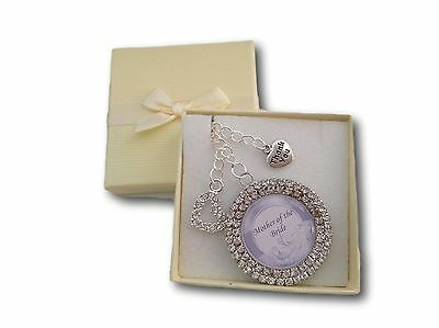 Personalised Thank You Bridesmaid Chief Matron of Honour Mother Gift Present