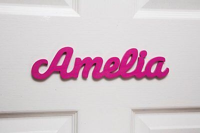 Personalised Names / Wooden Name Plaques / Door Sign / Bedroom Door Letters #91