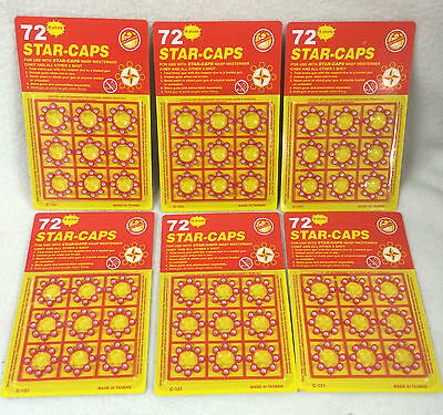 6×72 Shots Star Caps  gun cap For toy cap Gun 432 shots total boys fun 01B4001