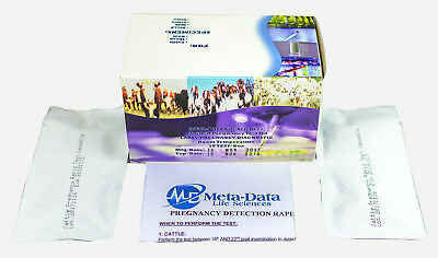 Dairy Cow/Goat/Sheep Rapid Pregnancy Test - Milk/Saliva/Blood/Urine (10 units)
