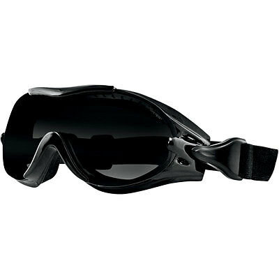 Bobster Phoenix Interchangeable Lens Motorcycle Riding Goggles Work with Glasses