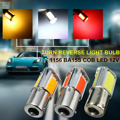 Lot 1156 BA15S 382 P21W 4 COB LED 5W Car Turn Signal Reverse Back Light Bulb 12V