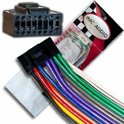 WIRE HARNESS FOR Jvc Kd-S79Bt Kds79Bt *Pay Today Ships Today ... on