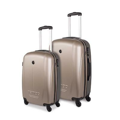 Set de dos trolleys tamaño 50/60 de 4 ruedas giratorias  CABINA LOW COST  ABS