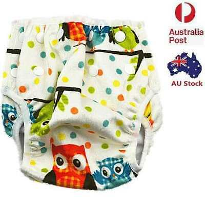 Reusable Swim Nappy Baby Girl Cover Diaper Pants Nappies Swimmers Toddlers (S38)