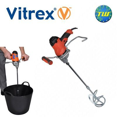 Vitrex MIX850IND Adjustable Speed Power Mixer 850W 110V Mortar Adhesive & Cement