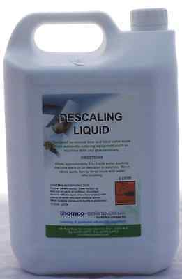 Descaling Liquid 5 Ltr Removes Limescale & Hard Water Marks Janitorial cleaning