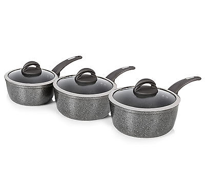 BRAND NEW: Tower T81212 3pc Forged Aluminium Ceramic Coated Non Stick Pan Set