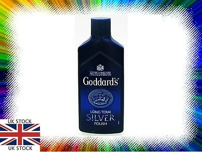 Goddards Long Term Silver Polish 125ml NEW FAST FREE POST