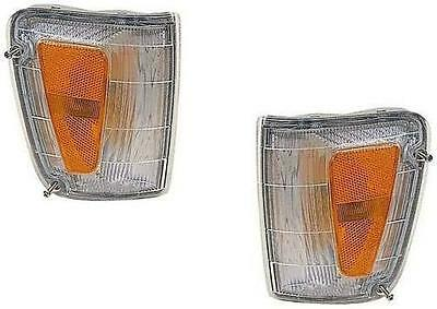 Toyota T100 Corner Park Turn Signal Lights 1993-1998 Pair Fender Mounted