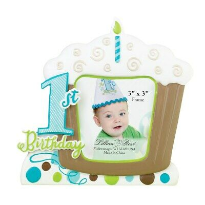 1st Birthday Frame - Blue