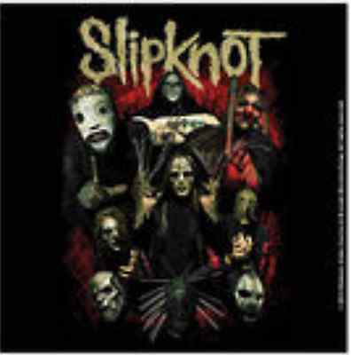 SLIPKNOT Come Play Dying Drinks Coaster Official Band Merch