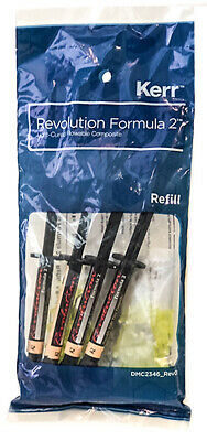 Kerr Original Revolution Formula 2 Flowable Light Cure Composite A1 / A2 / A3